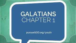 Galatians 1   Chapter 1