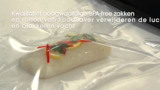FoodSaver Vacumeermachine Urban Basic Plus Zwart