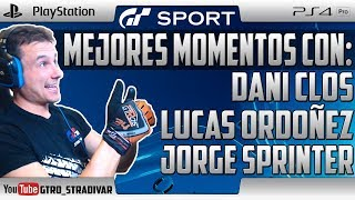 GT SPORT | CARRERAS CON DANI CLOS - LUCAS ORDOÑEZ - JORGE SPRINTER | GTro_stradivar Gameplay Español