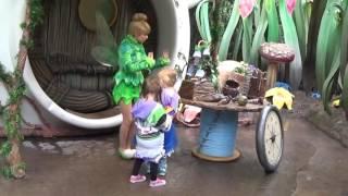 Meeting Tinkerbell Disneyland Ca 2017 Pixie Hollow