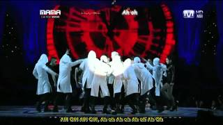 "TOP & GD MAMA 2010 (SUB ESP - ROMAN) - ""TURN IT UP"" ""INTRO GD&TOP"" ""KNOCK OUT"""