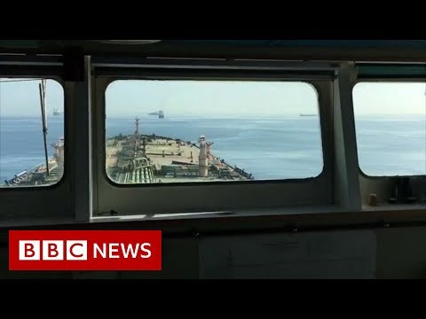 Grace 1: Onboard the seized supertanker – BBC News