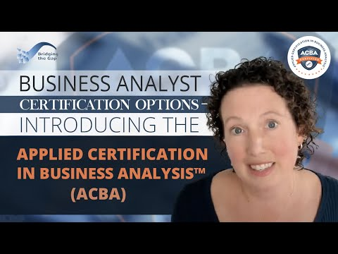 Business Analyst Certification Options–Introducing Applied ...