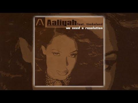 Aaliyah - We Need A Resolution (Instrumental) [Audio HQ] HD
