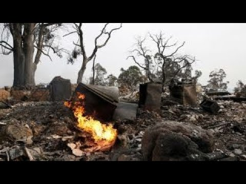 At least 17 dead in Northern California wildfires