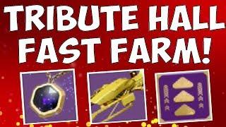 Destiny 2 - Tribute Hall - WAYS TO FARM TRIBUTES & UPGRADE HALL