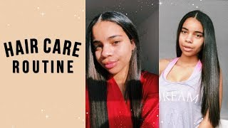 my hair routine + japanese hair straightening info