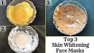 Top 3 Skin Whitening Face Masks   Removes Sun Tan, Dark Spots & Aging Signs   Get Fair Skin At Home