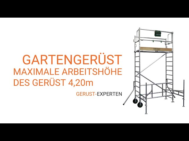 Gartengerüst video