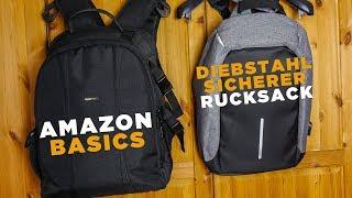 Welcher Rucksack ist der bessere für Kamera-Equipment - Amazon Basics_FX