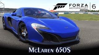 McLaren 650S! Um misto de P1 e MP4-12C!   Forza Motorsport 6 [PT-BR]