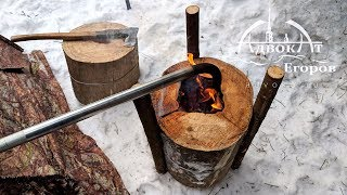Video Heating а Tent with a Log Torch MP3, 3GP, MP4, WEBM, AVI, FLV Agustus 2019