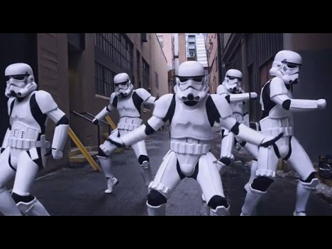 CAN'T STOP THE FEELING! - Justin Timberlake (Stormtroopers Dance Moves & More) PT 2