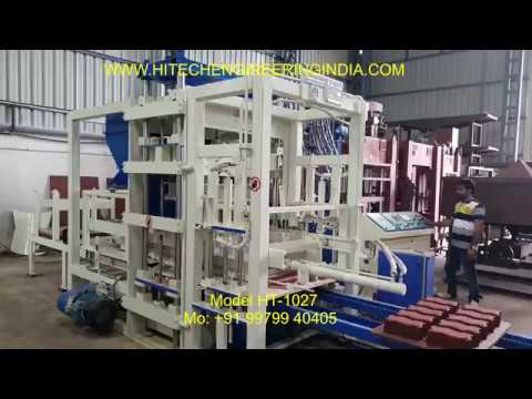 Fully Automatic Vibro Compacting Machine
