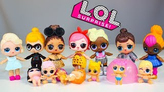#LOL Dolls Куклы ЛОЛ Моя Коллекция Видео для детей Про #Пупсики Куклы Сюрпризы Игрушки для детей
