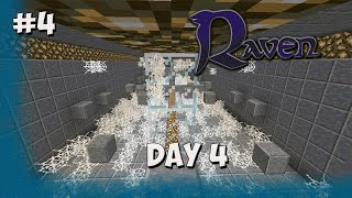 Minecraft Raven (Minecraft Gameshow) - Raven: The Gameshow (Season 1) #4 - The Fourth Day