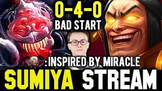 I wanna fight Broodmother because of MIRACLE   Sumiya Invoker Stream Moment #617