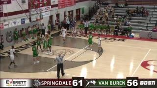 SHS Basketball   vs Van Buren