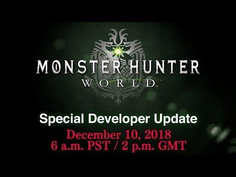 Monster Hunter World UPDATE COUNTDOWN: New Monster? G Rank