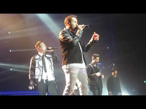 "Backstreet Boys ""Chances"" Live In Las Vegas (November 10 2018)"