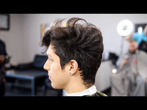 FRESHEST TAPER FADE COMBOVER HAIRCUT TUTORIAL
