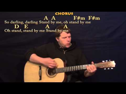 Stand By Me (Ben E King) Strum Guitar Cover Lesson with Chords-Lyrics