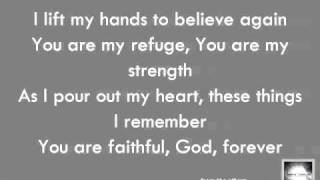 Chris Tomlin: I Lift My Hands - Official Lyric Video