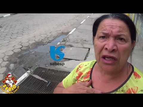 Dona Antonia manda um recado para a Sabesp