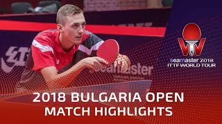 Ma Long Vs Liam Pitchford | 2018 Bulgaria Open Highlights (R32)