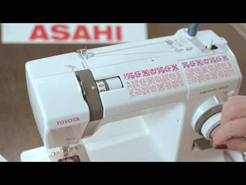 Máquinas de coser Toyota: Enhebrado