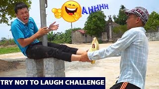 TRY NOT TO LAUGH CHALLENGE |  Do exercise Prank - Comedy Videos by Sml Troll | Ep 17