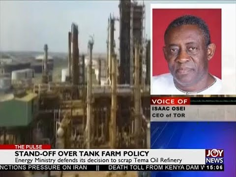 Stand-off Over Tank Farm Policy - The Pulse on Joy News (11-5-18)