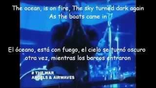Angels And Airwaves-The War Lyrics y Subtitulos LIVE 2007