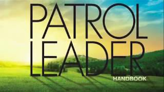 Patrol Leader Orientation