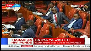 Peter Wanyama: We request this house to uphold the law and reject impeachment motion against Waititu