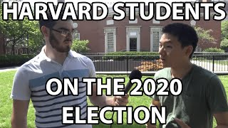Asking Harvard Students About the 2020 Presidential Election | Who Do They Support?