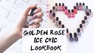 Ice Chic Nail Colour - Lakier do paznokci - Golden Rose
