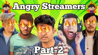 Top 5 Gamers Getting Angry Part-2 | Streamers Rage Caught on Camera! Funny Streamers Rage Moments