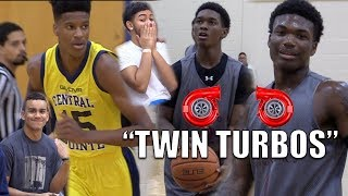 """Twin Turbos"" Tyrell Jones & Jordan Smith!!  West Oaks vs CPCA Fall League"