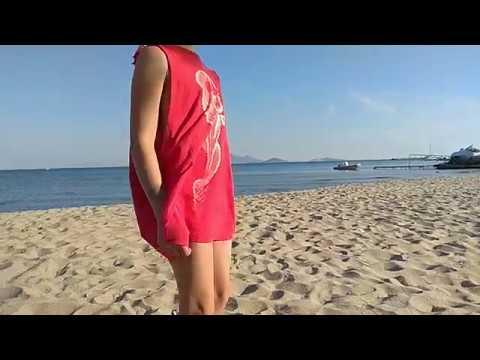 Video v článku DIY plážové šaty ze starého trika s originálním potiskem