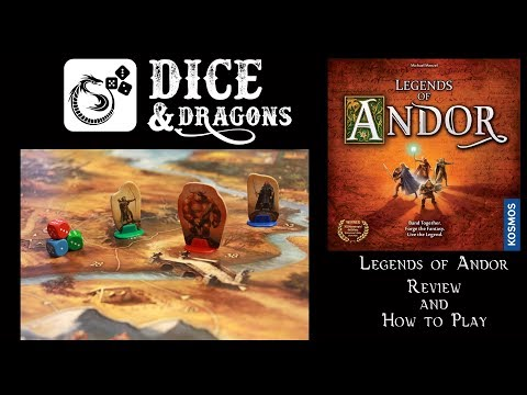 Dice and Dragons - Legends of Andor Review (Road to the Last Hope part 1)