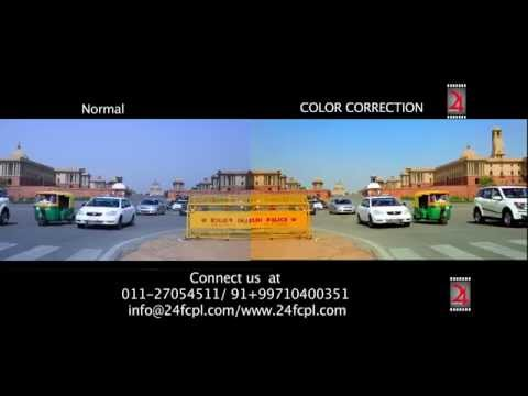 Color Correction Sample by me