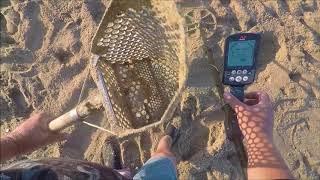 Beach Metal Detecting California 7/6/18