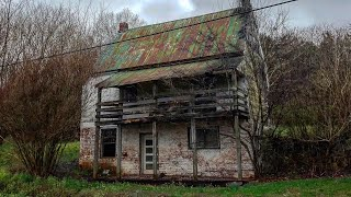 135 Year Old Abandoned Tenant Farm Houses W/ Lovely Porches