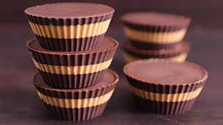 Easy Chocolate Peanut Butter Cups Recipe (Healthy & Vegan)