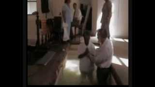 preview picture of video '91 year old lady gets baptized in Jamestown, St Helena on 10th Nov 2013'