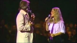"""""""Dont fall in love with a dreamer""""-  Kenny Rogers & Kim Carnes."""