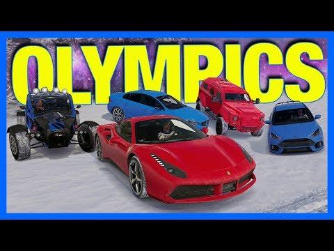 Forza Horizon 3 Online : WINTER OLYMPICS!!