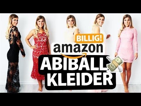 KRASS BILLIGE AMAZON ABSCHLUSSBALL KLEIDER unter 20€ 👍🏽/👎🏽?! LIVE ANPROBE + MEINUNG😱 | COCO