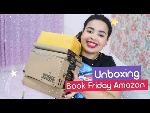 Mega Unboxing da Book Friday Amazon | Estrelado